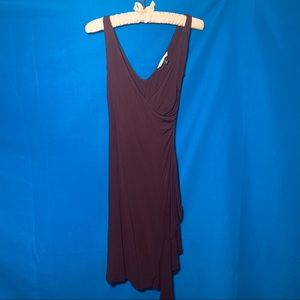 Diane Von Furstenberg brown viscose silk dress 2